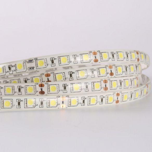 LED szalag 60 led/m 5050 extra erõs IP65 kültéri hidegfehér