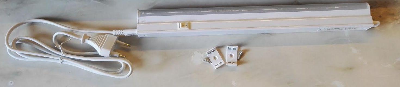 30cm-es komplett LED pultvilágító lámpa természetes fehér