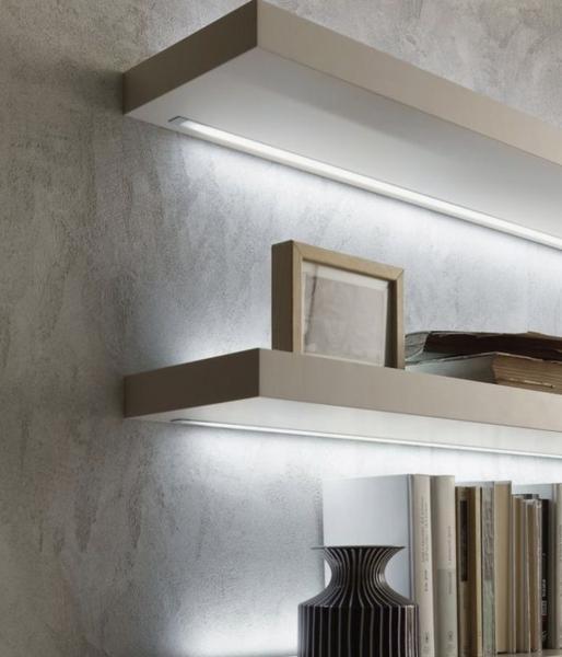 4m-es hideg fehér erős 11W/m konnektoros LED szalag szett