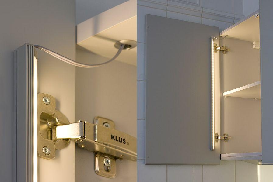45°-os ALU sarok profil 10mm széles LED szalaghoz
