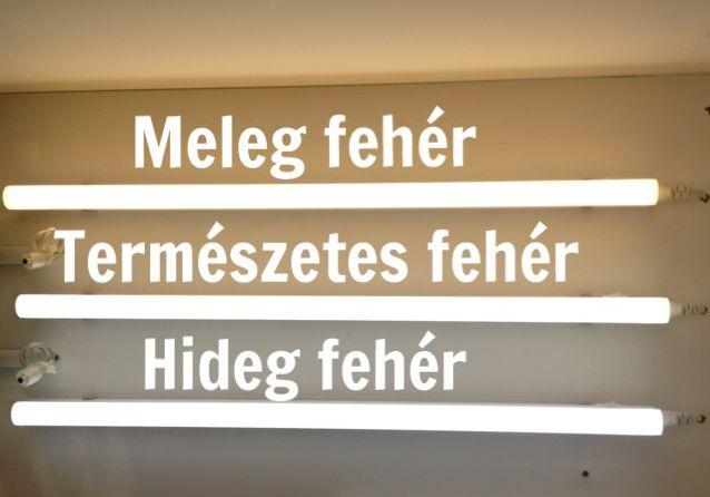 7W LED konyhai pultvilágítás 60cm-es meleg fehér