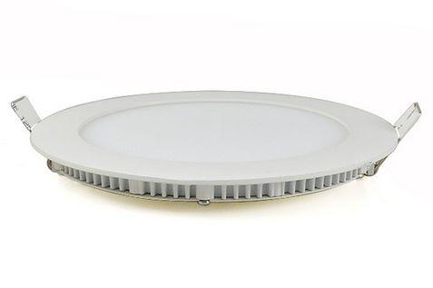 12W meleg fehér mennyezetbe süllyeszthető kerek LED panel