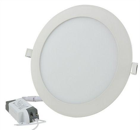 18W hideg fehér mennyezetbe süllyeszthető kerek LED panel