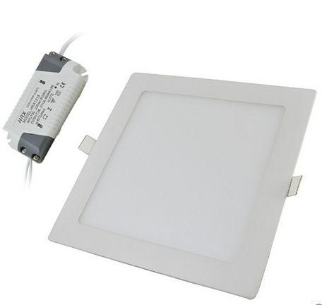 18W hideg fehér mennyezetbe süllyeszthető négyzet LED panel
