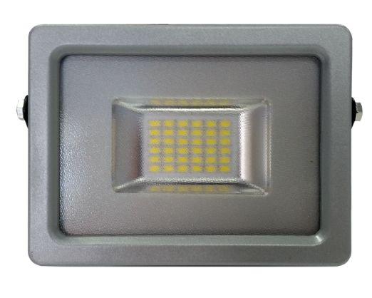 20W PRÉMIUM LED reflektor szürke kültéri meleg fehér