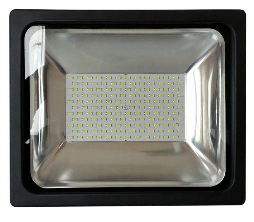 70W PRÉMIUM LED reflektor fekete kültéri természetes fehér