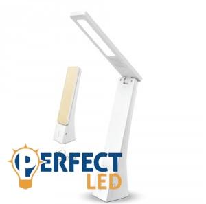 Asztali fehér-arany LED lámpa 4W