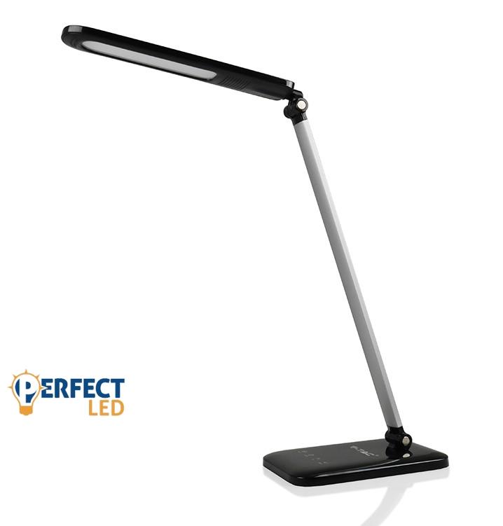 Asztali fekete színszabályozható LED lámpa 7W