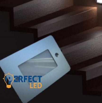 LED lépcsővilágítás melegfehér