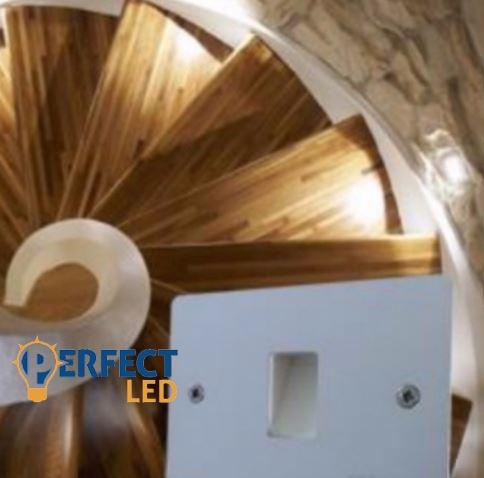 LED Lépcső világítás Movie hidegfehér