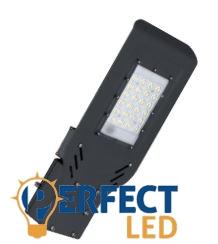 50W SMD LED utcai közvilágítási lámpatest fekete hidegfehér