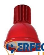 30W COLOR LED csarnokvilágító lámpa hidegfehér piros