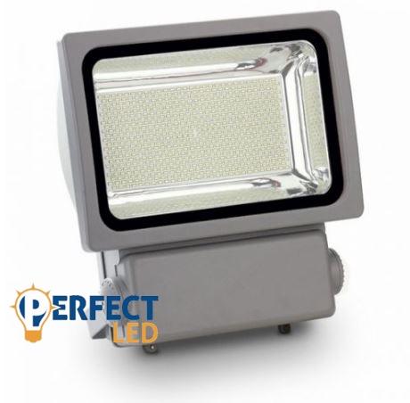 300W fekete prémium classic LED reflektor hideg fehér