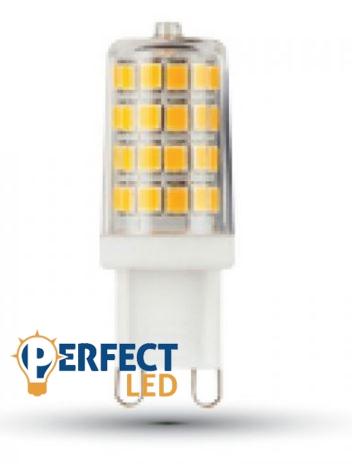 3W G9 LED égő hideg fehér