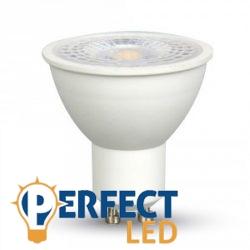 7W GU10 LED spot izzó természetes fehér