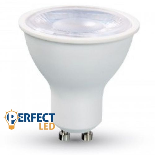 8W GU10 LED spot égő meleg fehér EXTRA ERŐS