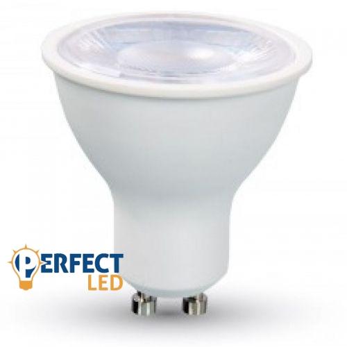 8W GU10 LED spot égő hideg fehér EXTRA ERŐS