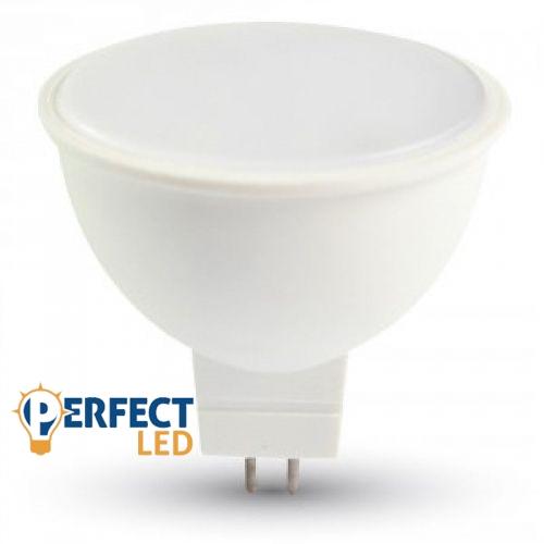 7W MR16 LED spot égő OPÁL meleg fehér