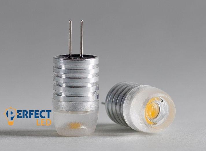 G4 1,5W LED égő 12V természetes fehér