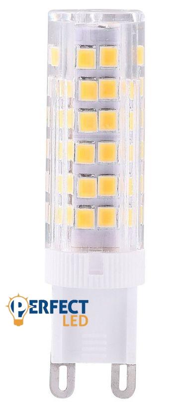 G9 5W LED égő meleg fehér EXTRA ERŐS