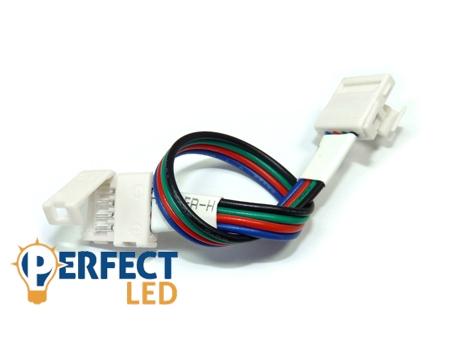 Forrasztásmentes toldó RGB LED Szalaghoz