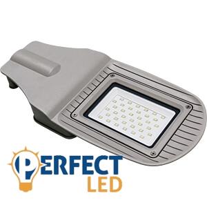 30W LED utcai közvilágítási lámpatest új dizájn hideg fehér