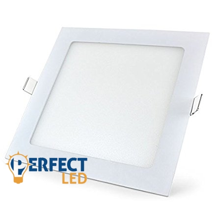 18W természetes fehér mennyezetbe süllyeszthető négyzet LED panel