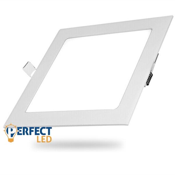 24W természetes fehér mennyezetbe süllyeszthető négyzet LED panel
