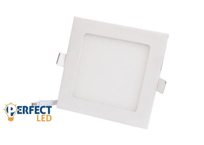 12W meleg fehér mennyezetbe süllyeszthető négyzet LED panel