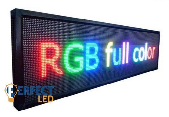192CM x 48CM  /AJÁNDÉK WIFI!/ SMD led TECH Color 64  P10 (10mm LED táv.) /64szín/