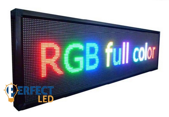 224CM x 48CM SMD led TECH Color 64  P10 (10mm LED táv.) /64szín/