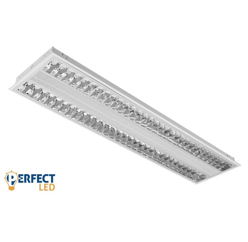 LED beltéri DESIGN fénycső armatúra falon kívüli 30x120cm