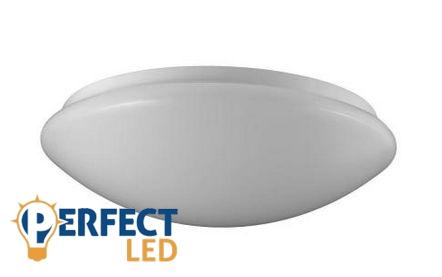 12W OPÁL LED fali, mennyezeti lámpa természetes fehér
