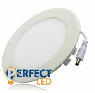 6W hideg fehér mennyezetbe süllyeszthető kerek LED panel