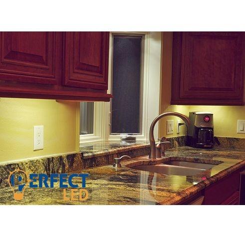 7W LED konyhai pultvilágítás 60cm-es természetes fehér