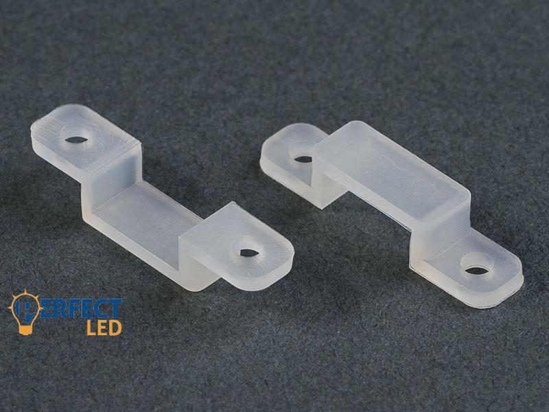 LED Szalag Rögzítő Clips Szilikon 10 mm (10 db/csomag)