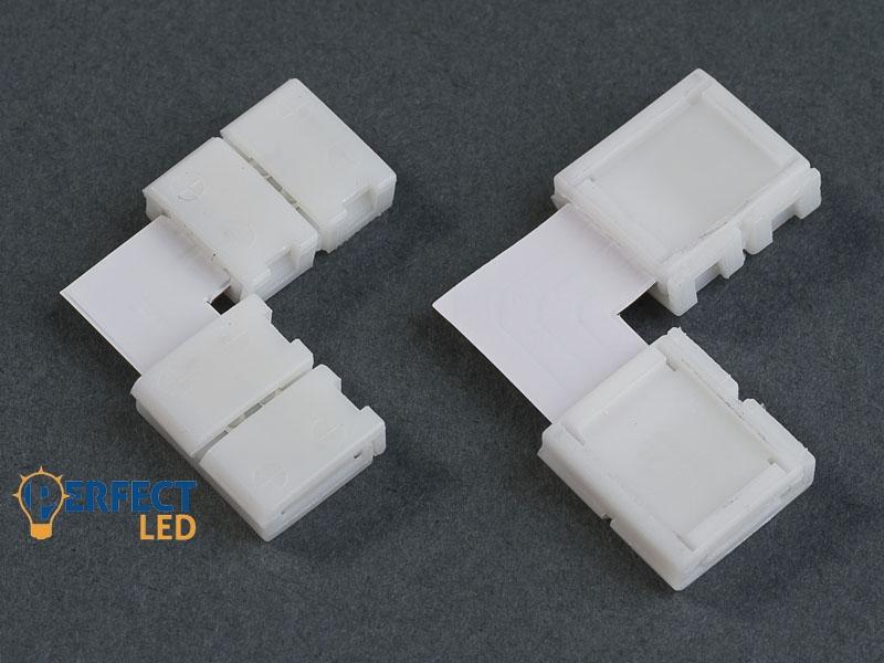 Sarok toldóelem 5050 RGB LED szalaghoz 10 mm