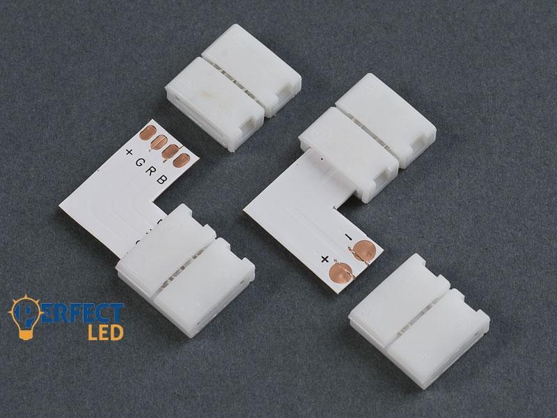 Sarok toldóelem 3528 LED szalaghoz 8 mm