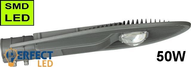 LED Közvilágítási lámpatest, utcai világítás 50W