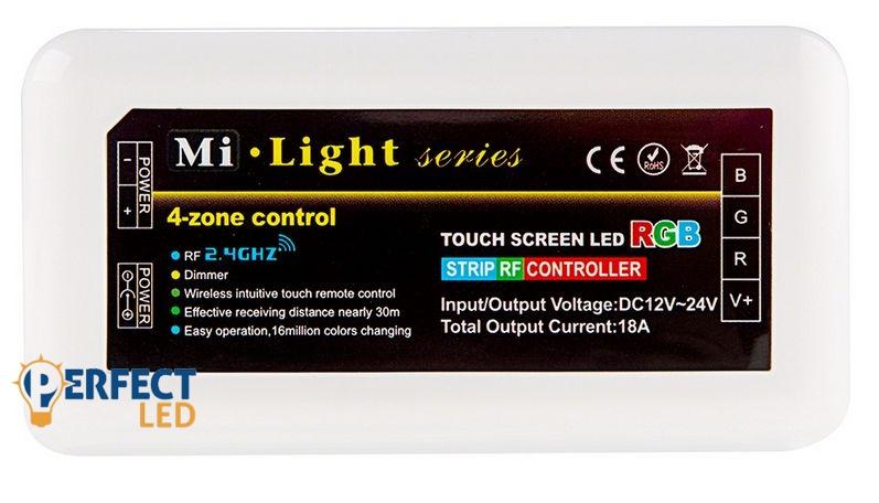 Group Control csoport RGB zóna vezérlő (controller) 216 Watt (3*72W) - 4 csatornás távirányítóhoz