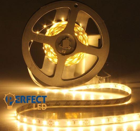Ledszalag 60 LED/m 4,8W IP20 beltéri meleg fehér hangulatvilágítás
