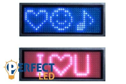 Programozható beltéri MINI LED fényreklám, fényújság