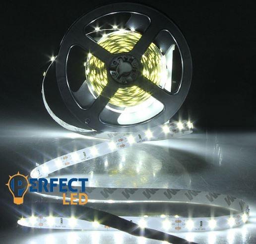 Ledszalag 60 LED/m 4,8W IP20 beltéri hideg fehér hangulatvilágítás