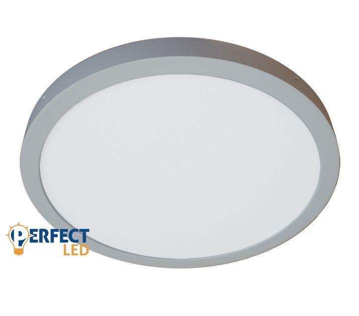 36W LED mennyezeti panel kerek 50cm-es meleg fehér