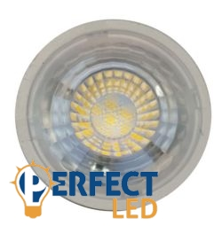 7W GU10 fényerőszabályozható LED spot izzó meleg fehér
