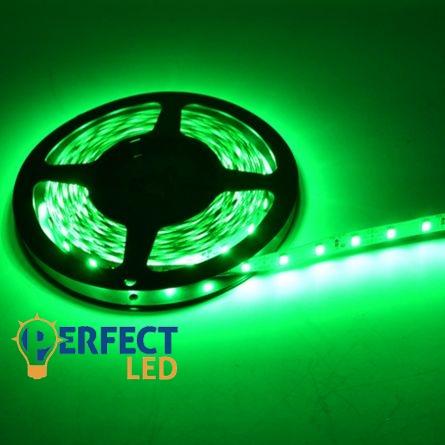 LED szalag 3,6W  60 SMD LED/m beltéri zöld
