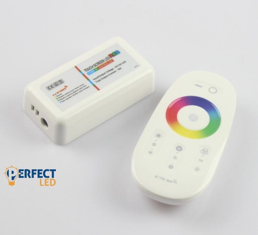 216W 2,4G Rádiós távirányító RGB LED szalaghoz