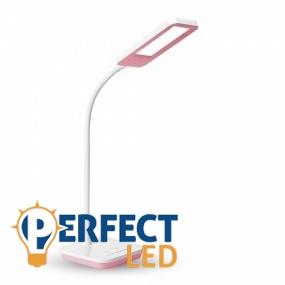 Asztali pink színszabályozható LED lámpa 7W