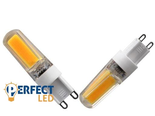 3W PRÉMIUM G9 dimmelhető, fényerőszabályozható LED égő meleg fehér