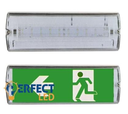 LED exitlámpa vészvilágító 4W-os 30ledes